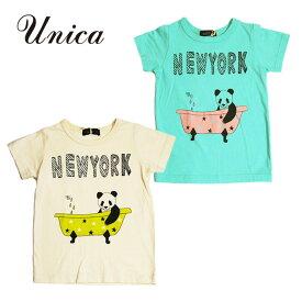 (20%OFF SALE)UNICA(ユニカ)NEWYORK 半袖Tシャツ-1575【100cm|110cm|120cm|130cm|140cm】【メール便OK】