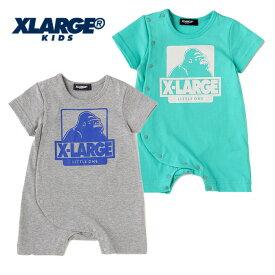 (SALE 30%OFF)XLARGE KIDS(エクストララージ キッズ) OGゴリラシンプルカバーオール-1505【70cm|80cm】【メール便OK】