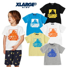 (SALE 30%OFF)XLARGE KIDS(エクストララージ キッズ) OGゴリラプリントTシャツ-1208【90cm|100cm|110cm|120cm|130cm|140cm】【メール便OK】