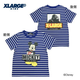 (30%OFF SALE)XLARGE KIDS(エクストララージ キッズ)ディズニーコラボ半袖Tシャツ-1222 【90cm|100cm|110cm|120cm|130cm|140cm】【メール便OK】