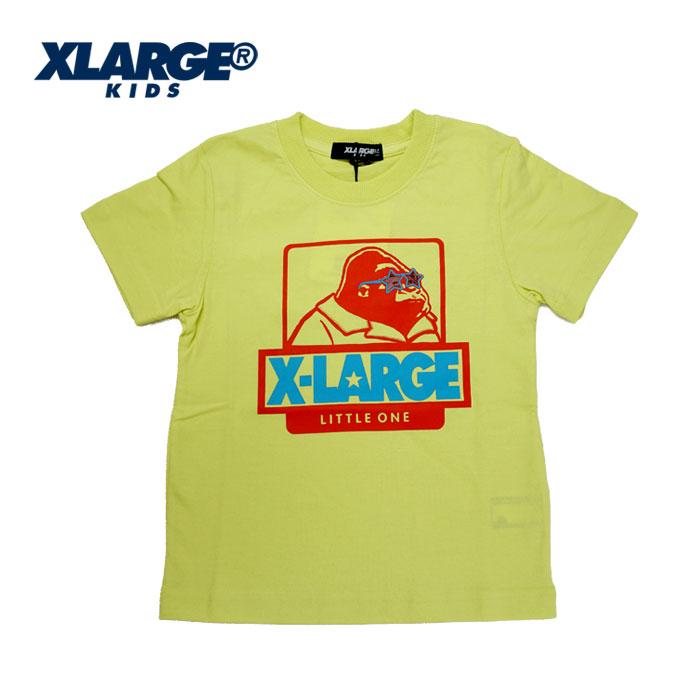 XLARGE KIDS(エクストララージ キッズ) サングラスOG半袖Tシャツ-1212【90cm|100cm|110cm|120cm|130cm|140cm】【メール便OK】