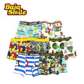 【メール便送料無料】Baja Smile(バハスマイル)7柄ボクサーパンツ