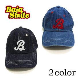 Baja Smile(バハスマイル)DENIMキャップ【メール便可能】