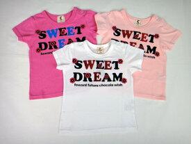 chocola(ショコラ)SWEET DREAM半袖Tシャツ【メール便可能】 tシャツ 半袖 キッズ 女の子 おしゃれ