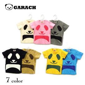 【夏物新作♪】GARACH(ギャラッチ)パンダ半袖Tシャツ【メール便可能】