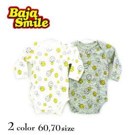Baja Smile(バハスマイル)スマイル総柄ボディスーツ【メール便可能】