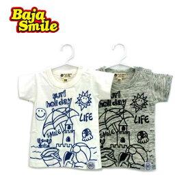 Baja Smile(バハスマイル)サマーホリディ半袖Tシャツ【メール便可能】