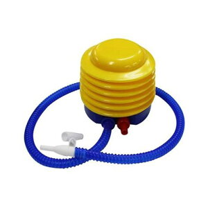 プラポンプ M エアーポンプ【空気入れ】足ふみポンプ プール、うきわの空気入れに 足踏み式 手動 ポンプ