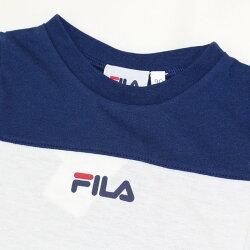 フィラ3段切替半袖Tシャツ