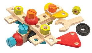 知育玩具 3歳 4歳 5歳 木のおもちゃ コンストラクションセット40プラントイ おもちゃ 大工おもちゃ 大工さん ごっこ 工具 工具おもちゃ こども 子供 子ども キッズ 幼児 オモチャ 誕生日 プレ