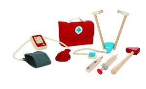 おままごと 木製 知育玩具 3歳 4歳 5歳 ドクターセットプラントイ 木製 おままごとセット 木のおもちゃ おもちゃ お医者さんごっこ お医者さん ごっこ遊び ままごと 幼児 キッズ こども 子供