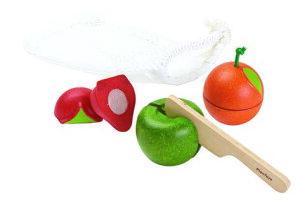おままごと 食材 知育玩具 1歳 2歳 3歳 フルーツセットプラントイ 木製 おままごとセット おもちゃ 木のおもちゃ ままごと キッチン ままごとセット ごっこ遊び 幼児 キッズ こども 子供 子ど