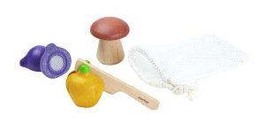 おままごと 野菜 知育玩具 1歳 2歳 3歳 ベジーセットプラントイ 木製 おままごとセット 食材 木のおもちゃ ままごと キッチン ままごとセット ごっこ遊び おもちゃ 幼児 キッズ こども 子供