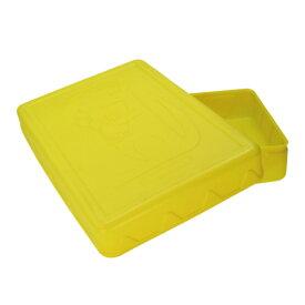 プラ道具箱 カンガルー(黄色 緑)