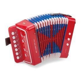 おもちゃ 楽器 アコーディオン S レッド/ブルーNEW CLASSIC TOYS ニュークラシックトイズ゛おもちゃ 楽器おもちゃ 楽器玩具 玩具楽器 音の出るおもちゃ 音 楽器 幼児玩具 キッズ こども 子供 子ども オモチャ キッズ 男の子 男子 男 女の子 女子 女 幼児