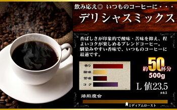 【送料無料】コーヒー専門店の大入り福袋!4種類2kg入り!(500g×4袋)【200杯分】【チモトコーヒー】