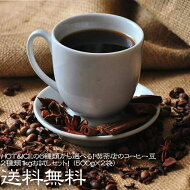【送料無料】HOT&ICEの6種類から選べる!喫茶店のコーヒー豆2種類1kgお試しセット!(500g×2袋)【100杯分】