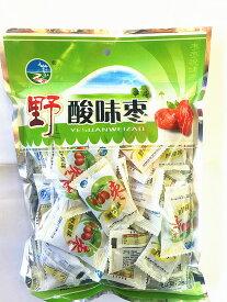 野酸棗 中華お菓子 紅飛 野酸味棗 中華食材 スナックお菓子 個包装 280g