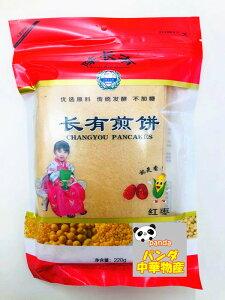 長有煎餅 紅棗煎餅 焼きクレープ 中華名物 故郷の味 220 g 煎餅 なつめ味 棗味