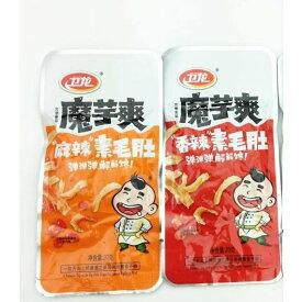 魔芋爽 素毛肚 香辣味 麻辣味 お任せで発送致します。中華物産零食 18g