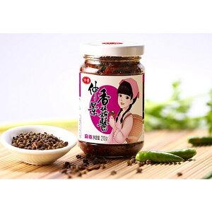 大人気 仲景 香姑醤 麻辣味 ( 辛シビ ) しいたけ入りラー油 みそ 椎茸ラー油 中華調味料 中華食材 中華物産 中国産 210g  冷凍商品との同梱はできません