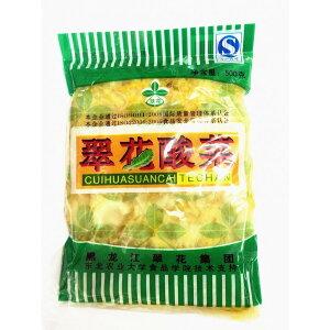 中国本場 酸菜 翠花酸菜 ( 白菜の酢漬 )中華料理人気商品・東北地方名物・鍋用・餃子の具等 500g