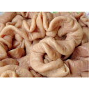 国産 猪肥腸 豚ホルモン 大腸 冷凍食品 中華食材 冷凍のみの発送 500g