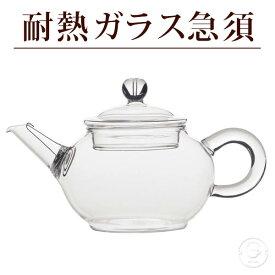 【月間優良ショップ受賞】 耐熱ガラス急須 満水:約250ml /バレンタイン