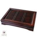 茶盤 竹製 中サイズ 08(鳳雅)/ハロウィン