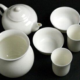 茶器セット 白磁