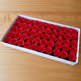 ソープフラワー ヘッド バラ 材料 花材 造花 ステム入り シャボンフラワー クラフト 看板 アレンジメント 花束 ブーケ リース バスケット ボックス 装飾 手作り 枯れない