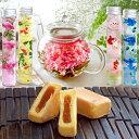 即日出荷 ハーバリウム プリザーブドフラワー お花のつぼみ カーネーション茶 パイナップルケーキ 母の日ギフト 2021 …