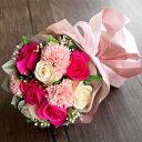 ソープフラワー 花束 ブーケ シャボンフラワー 造花 アーティフィシャルフラワー プリザーブドフラワー 花 誕生日 バースデー お祝い 古希 還暦 クリスマス