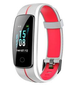【2019年最新版】スマートウォッチ IPX68完全防水 マルチタッチスクリーンタイプ スマートブレスレット GPS 活動計量 心拍計 活動量計 時計 腕時計 ランニングウォッチ リストバンド