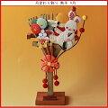ちりめん細工館季節の置き飾り9月幸せをかき集める「熊手」インテリア和雑貨