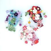 【きれのはな】小さな羽子板飾り1月〜6月