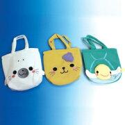 【招喜屋】かばんバッグ海のアニマルキャラクターシリーズトートバッグ《海のアニマルキャラクター》