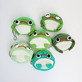 Coin case of the frog
