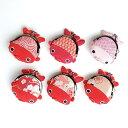 【金魚シリーズ】金魚のがま口 全6種類