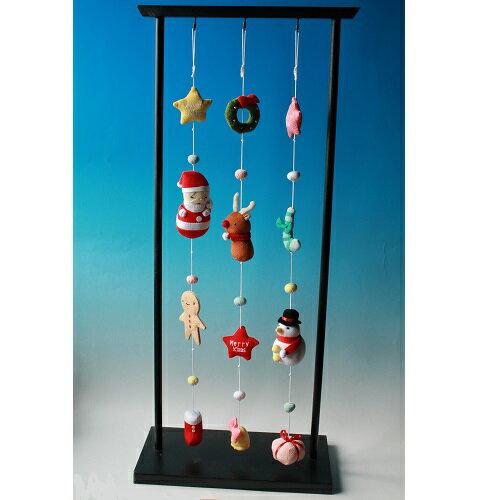 【一本吊り飾り】縦に飾れる飾り クリスマス