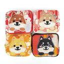 【愛犬シリーズ】柴犬のスクエアコインケース