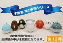 【起き上がり小法師】楽しい水族館の ※ネコポス(メール便)/不可