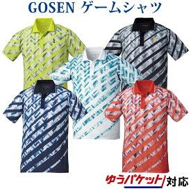 ゴーセン ゲームシャツ T1816 メンズ 2018AW バドミントン テニス ゆうパケット(メール便)対応 2018新製品 2018秋冬
