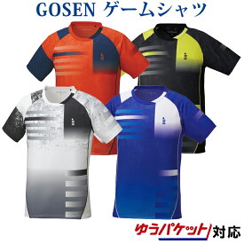 ゴーセン ゲームシャツ T1820 メンズ 2018AW バドミントン テニス ゆうパケット(メール便)対応 2018新製品 2018秋冬