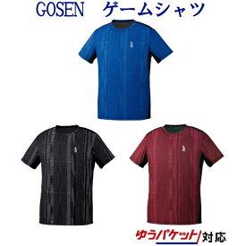 ゴーセン ゲームシャツ T1914 メンズ ユニセックス 2019SS バドミントン テニス ソフトテニス ゆうパケット(メール便)対応 2019最新 2019春夏