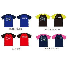 ゴーセン 2017年夏企画限定Tシャツ Fastest Sports J17P13 ユニセックス Tシャツ バドミントン GOSEN 2017年モデル ゆうパケット(メール便)対応 ラッキーシール対応