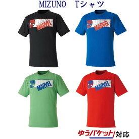 ミズノ MARVEL Tシャツ 72JA9Z53 メンズ ユニセックス 2019AW バドミントン ゆうパケット(メール便)対応