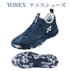 ヨネックス パワークッションフュージョンレブ4メンGC SHTF4MGC-366 ネイビー/アイスブルー メンズ 2021SS テニス ソフトテニス シューズ 靴