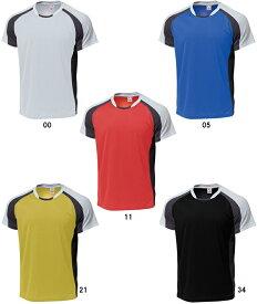 【取寄品】 ウンドウバドミントンシャツP-3610 バトミントン 練習着 ウェア Tシャツ 半袖ユニセックス 男女兼用wundou 2015年モデル ゆうパケット(メール便)対応 ラッキーシール対応