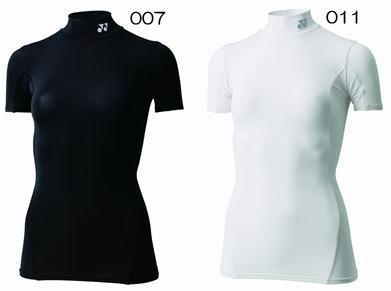 【在庫品】 ヨネックス マッスルパワーSTBフィットネスモデルハイネック半袖シャツ(レディース) STB-F1503 バドミントン ゴルフ テニス 野球スポーツインナーレディース 女性用YONEX 2012年モデル